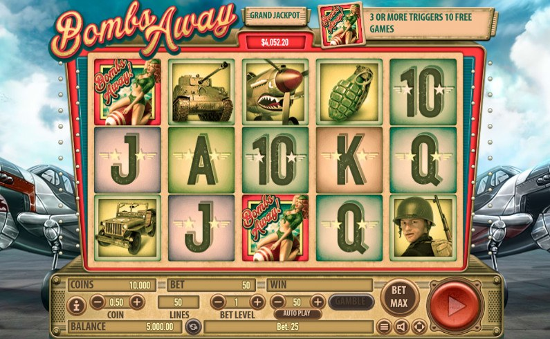 Spiele Bombs Away - Video Slots Online